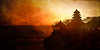 """<h1>Sunset at Tanah Lot. </h1> <p>The beautiful view from behind Tanah Lot facing towards the sun. One of the seven amazing sea temples around Bali. </p>  <p>Learn more about my photography at <a href=""""http://alikgriffin.com"""">AlikGriffin.com</a></p>"""
