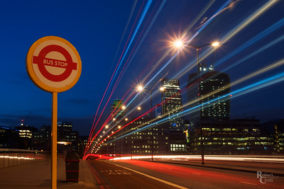 Bus Stop London Bridge