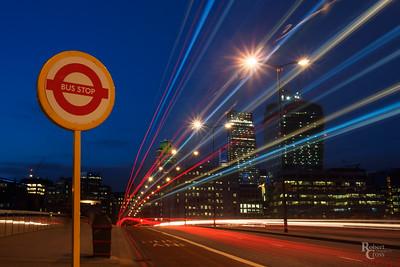 Bus Stop London Bridge