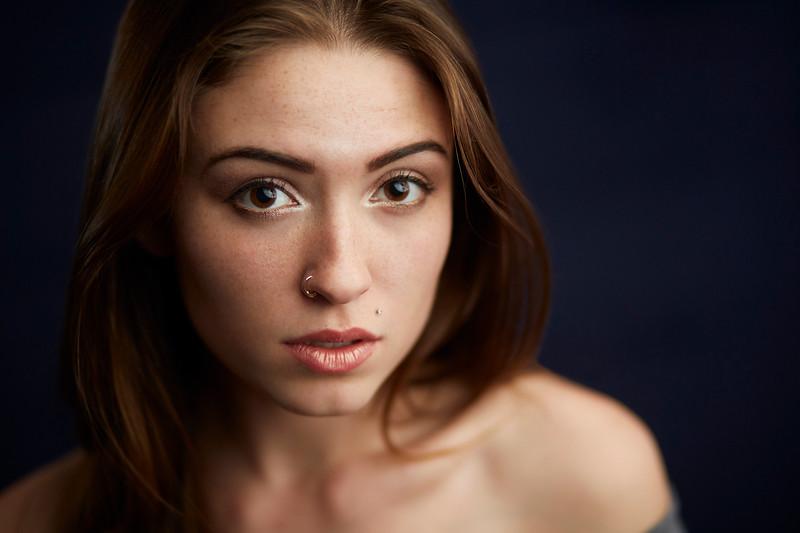 Portrait of Female Model
