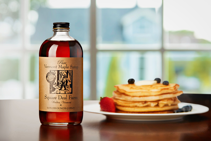 Square Deal Farm Maple Syrup  and Pancakes