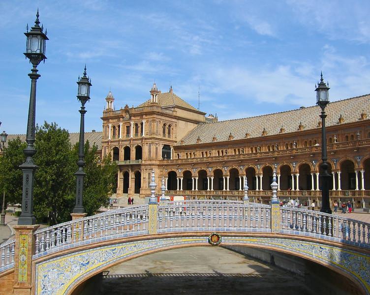 Plaza de Espana-Seville, Spain