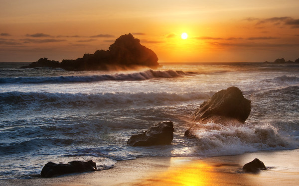 The Waves of Big Sur
