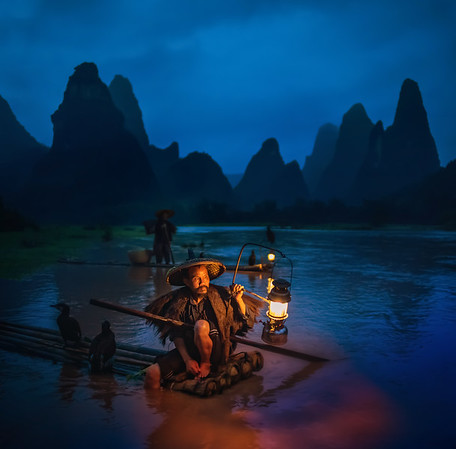 Fisherman in China