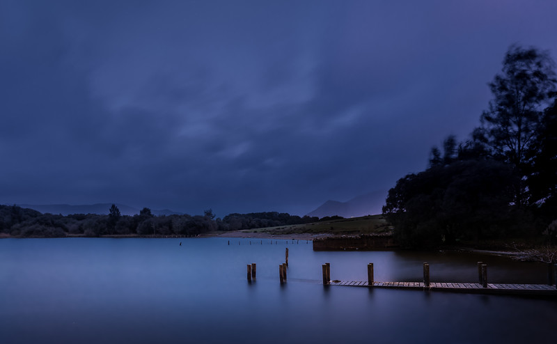 Old Jetty in the Blue Hour