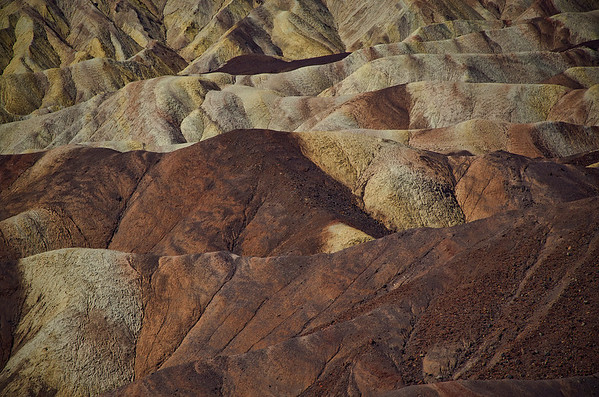 'Rolling Textures' ~ Death Valley National Park, CA