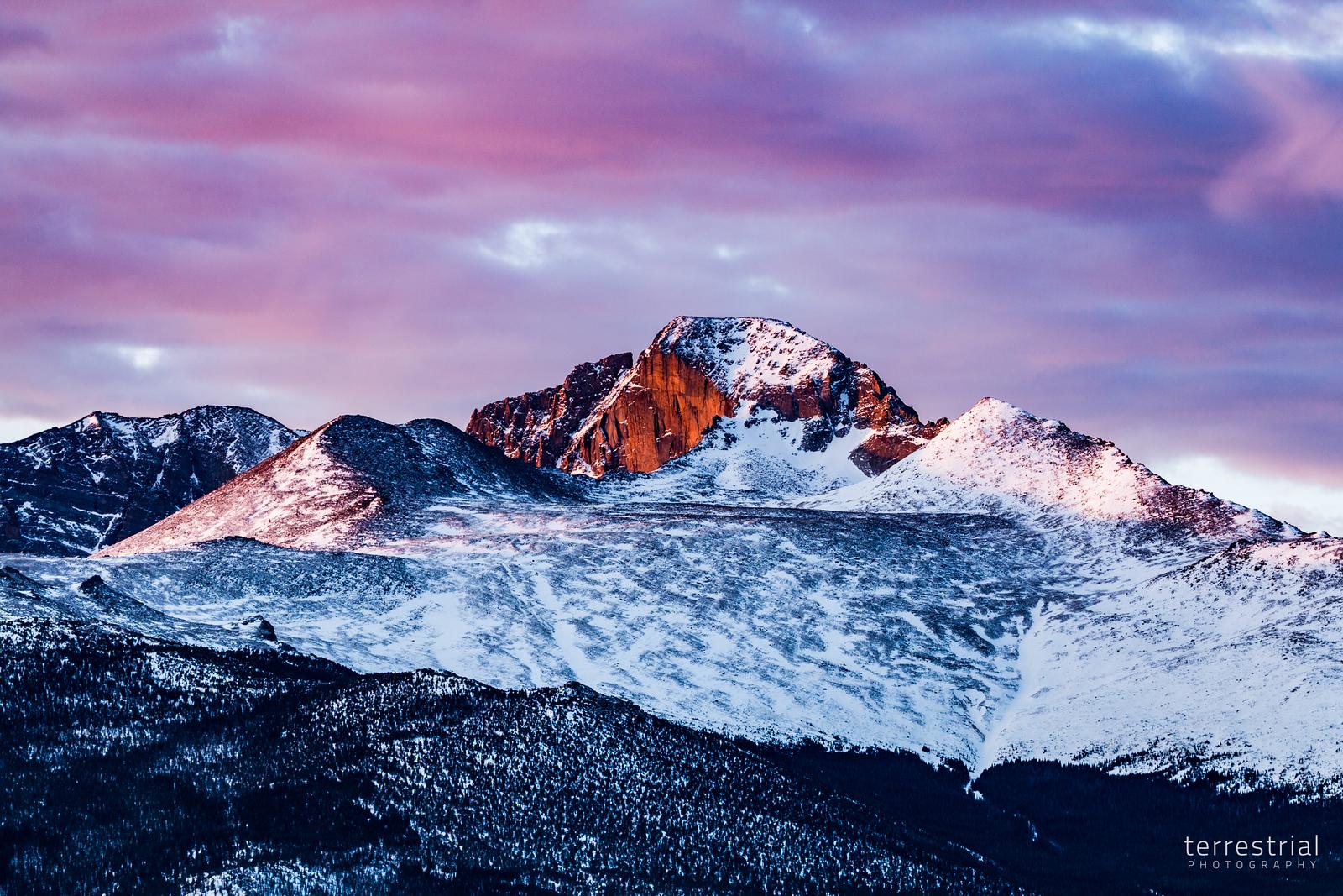 Longs Peak Sunrise