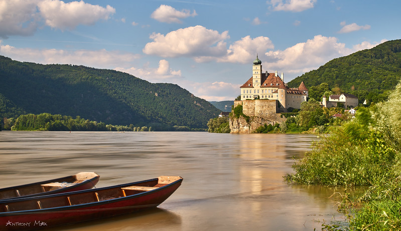 """Schloss Schoenbuehel on the Danube, Austria"""