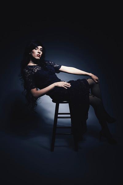 Portrait of Drag Performer Veronica Blose