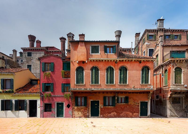 A Lesser Known Square in Venice