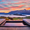 Aro-Ha At Sunset