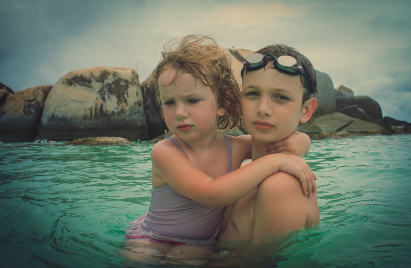 """<h2>Kids in the Baths</h2><br/>This is my oldest son, Ethan, holding my youngest daughter, Scarlett.<br/><br/>I took the NEX-7 (see my ever-updating Sony NEX-7 Review) into the amazing waters of The Baths in Virgin Gorda. I feel more comfy taking my NEX-7 into """"risky"""" situations because it is so small and light. It's still fairly expensive, so that is a worry (!!), but I do find myself getting """"more"""" shots with this camera in certain situations like this.<br/><br/>- Trey Ratcliff<br/><br/><a href=""""http://www.stuckincustoms.com/2012/06/10/25851/"""" rel=""""nofollow"""">Click here to read the rest of this post at the Stuck in Customs blog.</a>"""