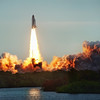 """<h2>The Endeavor Lifts Off</h2> So, when I took this, I was using two different cameras. The first one was my D3X with the 28-300mm lens on a tripod, and that is how I got this one. It's an HDR from a single RAW.  Not long after this, the buffer filled up and it started to shoot slowly, so I went to my second camera around my neck, the D3S with a 50mm prime. And I got <a href=""""http://stuckincustoms.smugmug.com/Portfolio-The-Best/your-favorites/10668747_AuyBk#1294885691_MKZKwgz"""">this shot.</a>  - Trey Ratcliff  Read the rest of this entry <a href=""""http://www.stuckincustoms.com/2011/07/03/the-endeavor-lifts-off/"""">here</a> at the Stuck in Customs blog."""