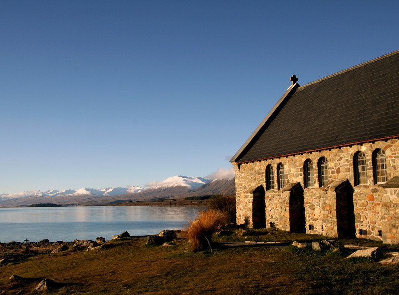 Tekapo Lake - Church of the Good Shepherd 2