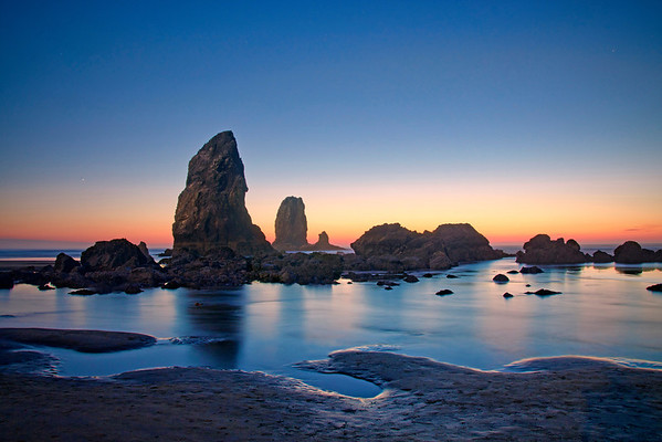'Low Tide Glow' ~ Cannon Beach, OR
