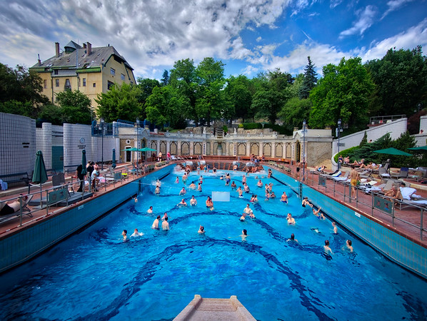 The Wave Pool In The Turkish Baths
