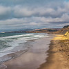 Low Clouds Over San Gregorio Beach (California)