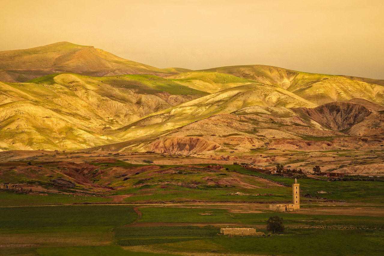 Colors Of The Countryside In Morocco