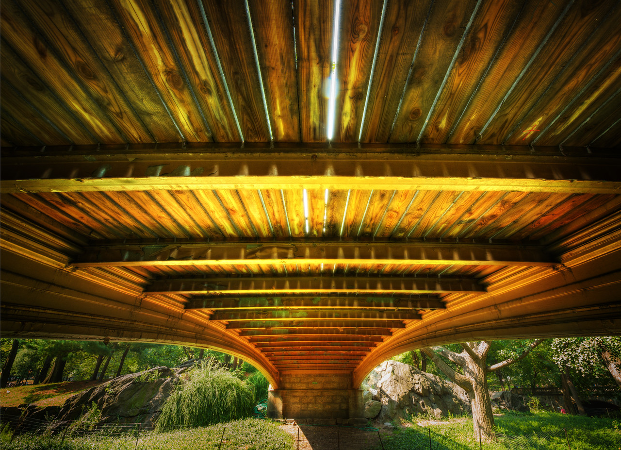 Under the Bridge in Central Park Here is one of the final images from the second video here.  This was shot when I was hanging out with Clayton Morris in New York.- Trey RatcliffClick here to read the rest of this post at the Stuck in Customs blog.