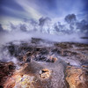 <h2>Not of this Earth</h2> <br/>These are the bubbling sulfur pools of geothermal Iceland.<br/><br/>- Trey Ratcliff