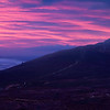Magenta Sunrise over Bennachie