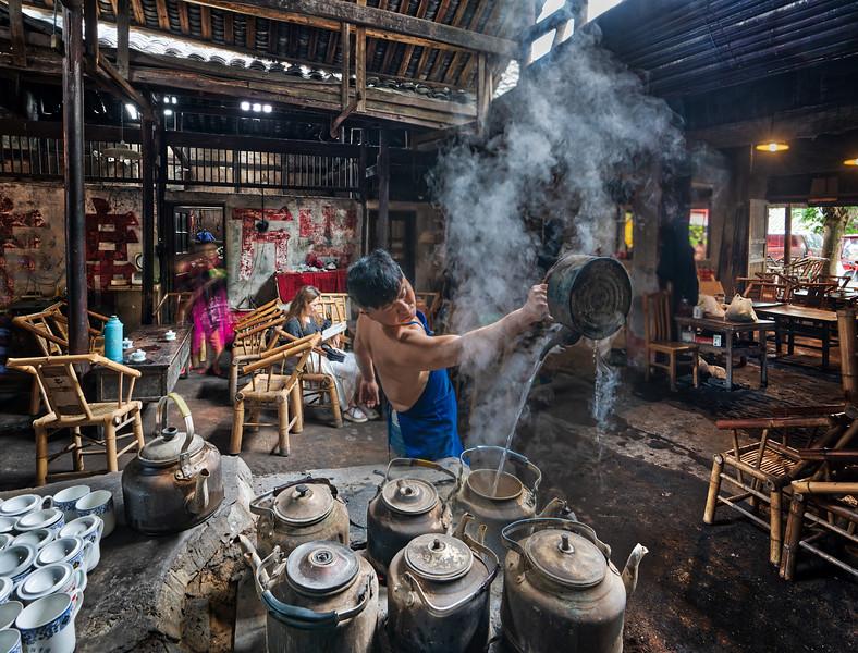 An Ancient Tea House in Chengdu
