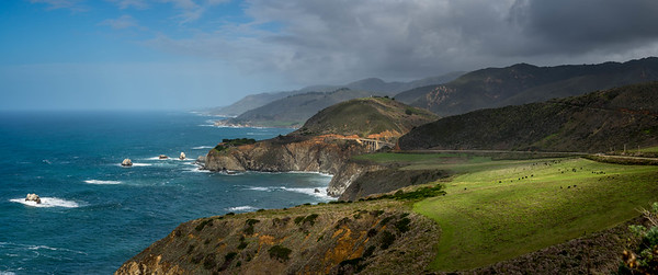 Bixby Bridge from HWY 1 California