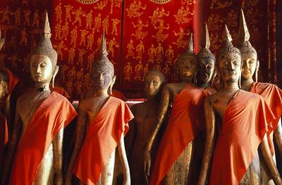 Discarded Buddhas, Luang Prabang Laos