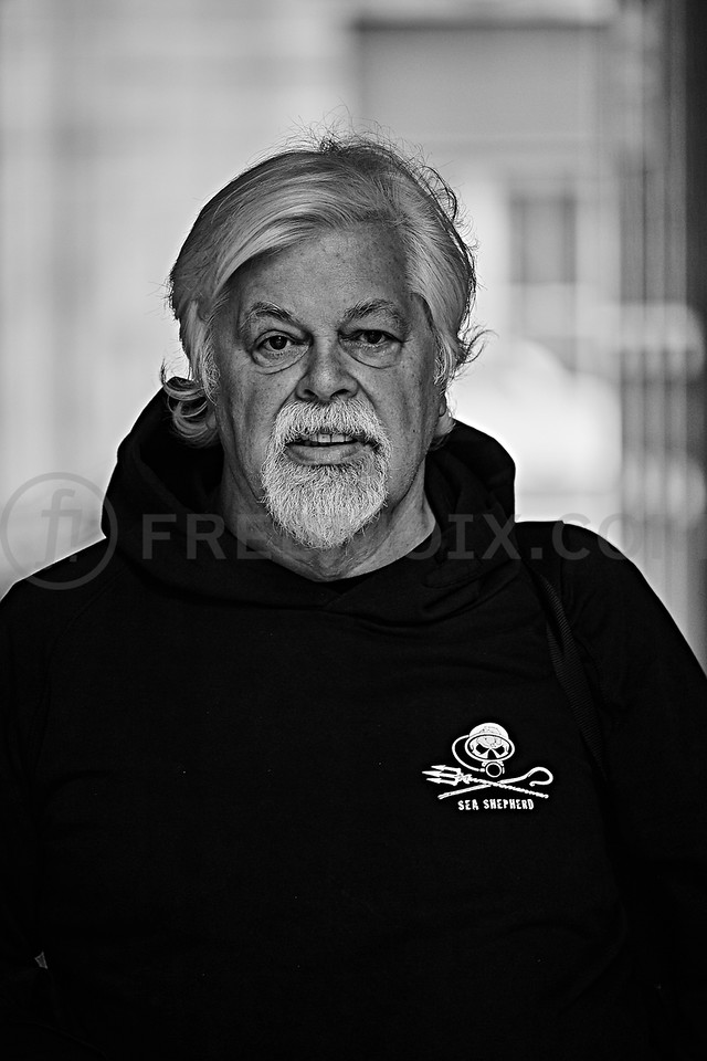 Paul Watson, Founder of Sea Shepherd Conservation Society, Co-Founding Director Greenpeace Foundation
