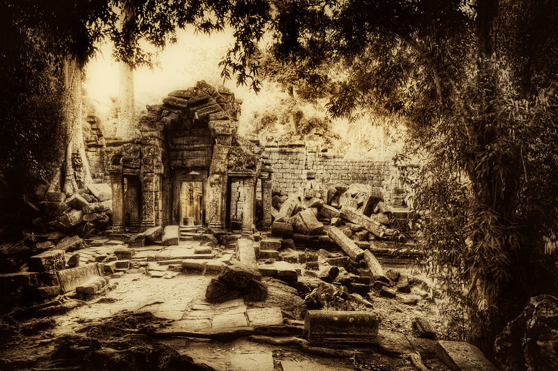 The Forgotten This was brought up in the chat session yesterday -- Black and White HDRs! Yes, they are possible, and they are a lot of fun! I don't do it that much because I am so in love with vibrant colors.. but sometimes, on a lark, I'll do it. The one below, of a forgotten temple in Cambodia, is a simple black and white with a bit of a sepia tone. Enjoy!- Trey RatcliffClick here to read the rest of this post at the Stuck in Customs blog.