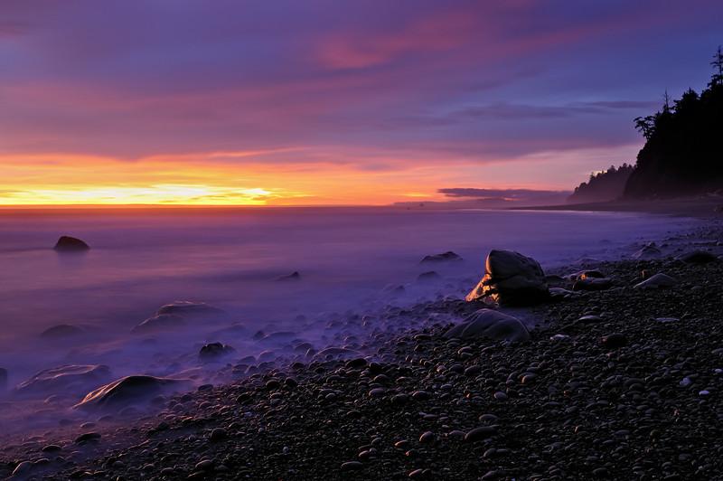 Olympic Pacific Coast Last Light Catchers