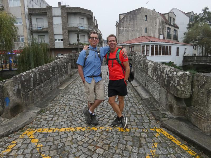 Myself and Hugh Howey