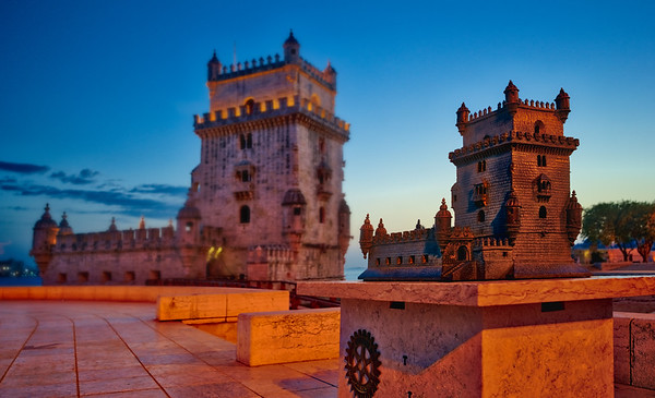 The Two Towers Of Lisbon
