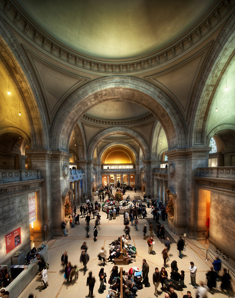 An Amazing Day at the Met On Sunday, I set aside about six hours to spend alone at the Metropolitan Museum of Art.   Most of you may know by now how I am obsessed with the Impressionists.  Don't ever go to a museum with me, because I will bore you for hours on end with strange tidbits.  Anyway, the Met has a fantastic collection that kept me busy most of the time...  It's rather nice of them to hang on to my paintings for me.  One day, when I get some time, I'm going to make a little page here and show some of my favorites.The Man would not let me take a tripod inside, so that was unfortunate.  I did manage to do a few hand-held HDRs however... here is one that I have processed thus far.- Trey RatcliffClick here to read the rest of this post at the Stuck in Customs blog.