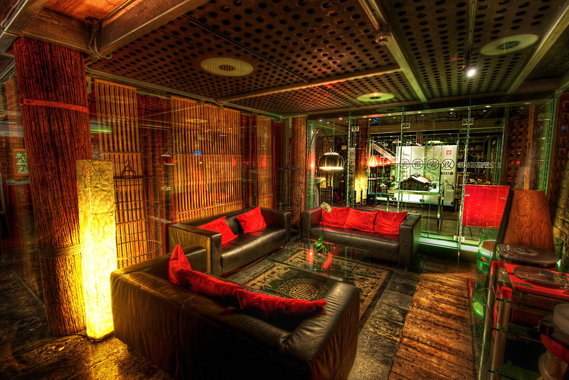 """<h2>The Black Void of Couches</h2><br/>This is the amazing little restaurant that was attached to the opera in Beijing. It was built inside of an ancient farmhouse that has been converted into one of these ultra-stylish modern restaurants.<br/><br/>By the way, this is one of my strangest photo titles ever… I was feeling a little weird.<br/><br/>- Trey Ratcliff<br/><br/><a href=""""http://www.stuckincustoms.com/2012/06/21/the-black-void-of-couches/"""" rel=""""nofollow"""">Click here to read the entire post at the Stuck in Customs blog.</a>"""