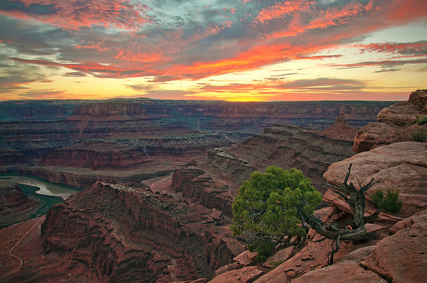 'Dead Horse Point Sunset' ~ Utah