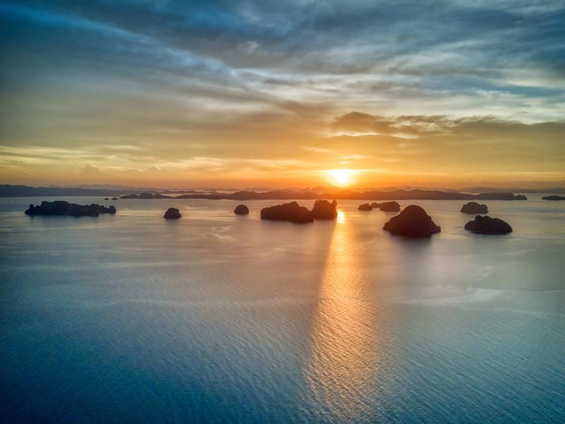 Floating Over Krabi