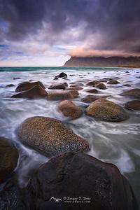 Uttakleiv, Islas Lofoten, Noruega