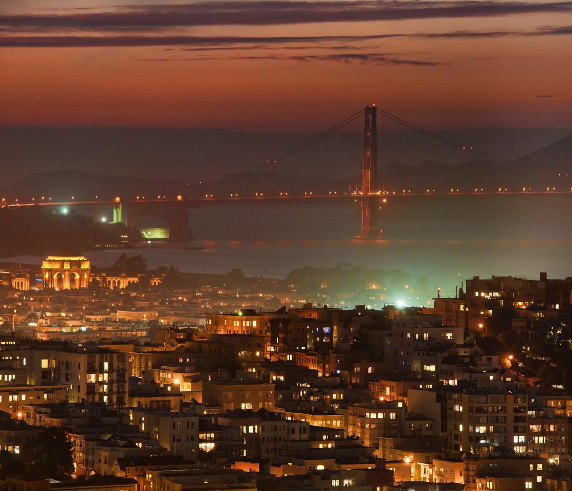 San Francisco at Night