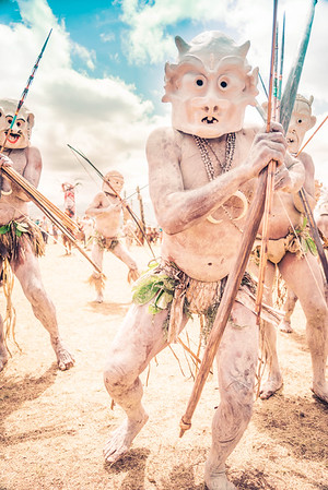 The Mudmen In Papua New Guinea