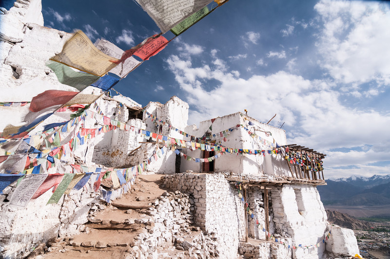 The remains of Namgyal Tsemo (Leh Fort)