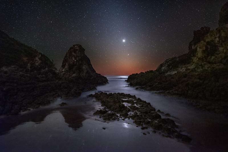 Venus, Mercury, and the Zodiacal Light