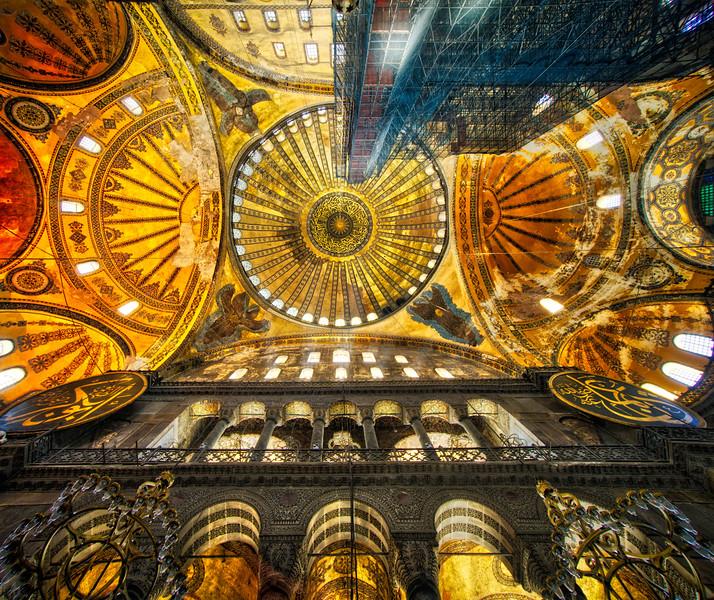 A Remastering Of The Hagia Sofia