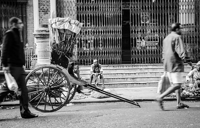 THE RICKSHAW RUNNER, KOLKATA, 2013