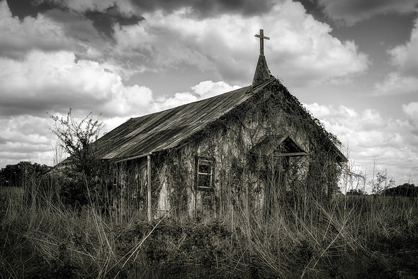 Abandoned Central Texas Church