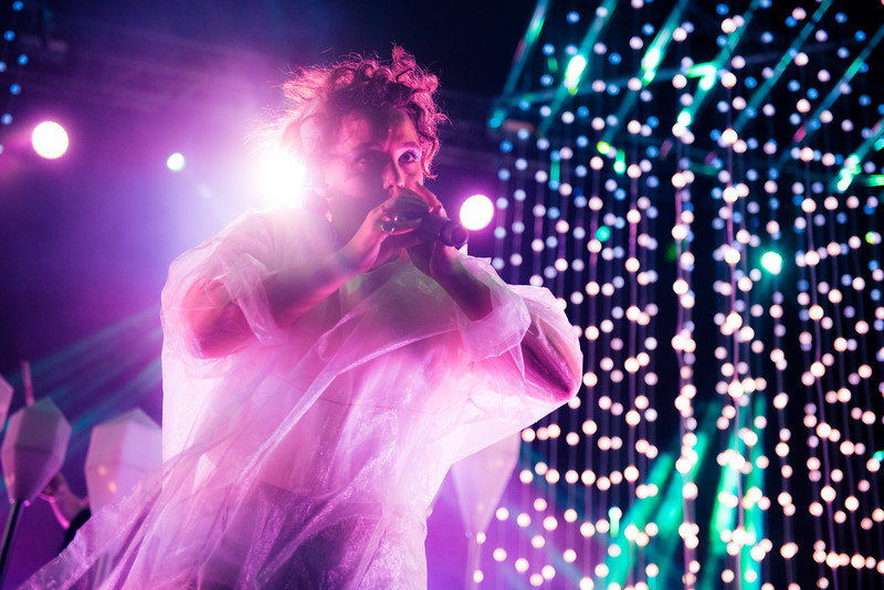 Purity Ring, Laneway Singapore, 2015