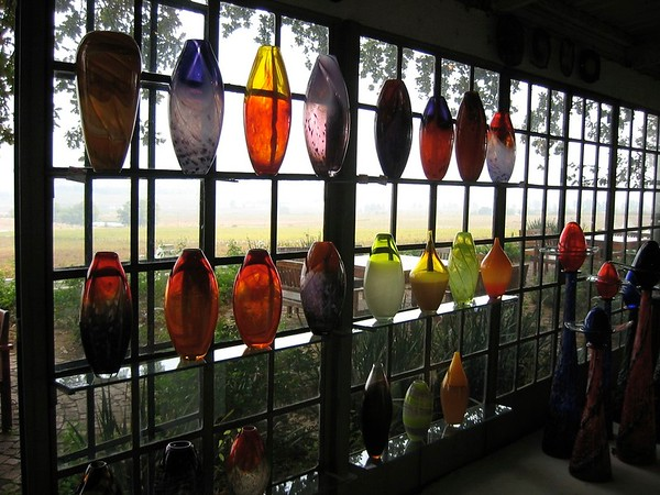 blown glass, south africa