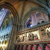 """<h2>Exploring the Cathedral</h2> <br/>No tripods allowed.  I think maybe it said this in French.  Or English.  I can't remember because I ignored it.  How are you supposed to get a decent photo inside Notre Dame without a tripod?<br/><br/>I spent this weekend processing a bunch of photos from France, and this is one that took quite a while.  People often ask me, 'How long do you work on your photos?""""  My answer is always a bit strange, since any time-allotment will not seem correct.  The thing is... I've processed so many photos over the years -- I've gotten very fast at it.  I've got macros, keyboard shortcuts, etc etc.  I think I might look like a Korean Starcraft player... I slow it down a lot for the tutorial and stuff.  But, anyway, having said that, my answer is """"anywhere from 15 minutes to two hours"""".  This shot in particular took a little over an hour.  It was a hard one...  I had to take a few breaks and refill the green tea a few times to work out some issues with it.<br/><br/>- Trey Ratcliff<br/><br/><a href=""""http://www.stuckincustoms.com/2011/01/04/notre-dame-2/"""" rel=""""nofollow"""">Click here to read the rest of this post at the Stuck in Customs blog.</a>"""