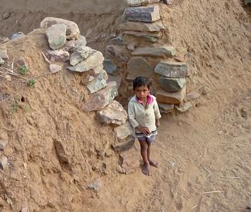 village boy, india - 2009