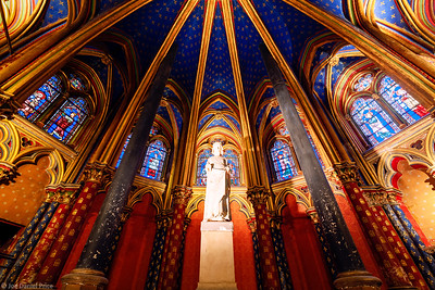 Lower Chapel, La Sainte-Chapelle, Paris, France